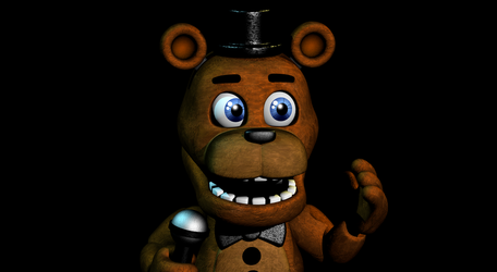 If Adventure Freddy Was In The FNAF 1 Trailer... by Blazave