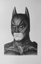 Batman Drawing by AndyVRenditions
