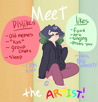 Meet the artist! by SinnersAreWinners