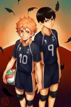 Haikyuu!! by Fishiebug