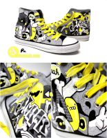 Electro Chucks by Bobsmade