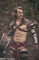 Next Battle - Gannicus  Cosplay Art by Leon Chiro by LeonChiroCosplayArt