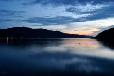 Danube at dusk by Lk-Photography