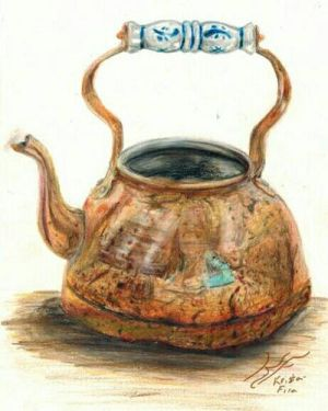 Color Teapot by Krista-Fira