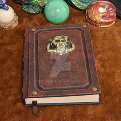 Fallout Power Armor Grimoire Tome Journal by RaptorArts