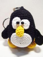 Tux the Linux Penguin Doll by Nissie