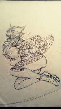 Sketching Tracer by scorpmanx