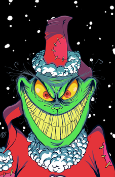 How the Grinch Stole Christmas - color by Nekr0ns
