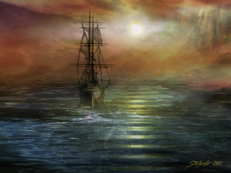 Approaching the New World by raysheaf