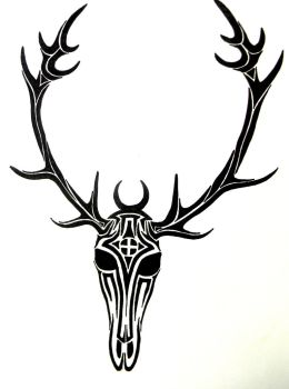 Tribal Stag by Iolair01
