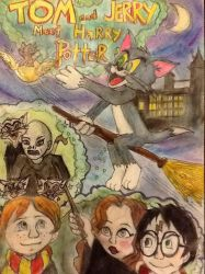 Tom and Jerry Meet Harry Potter by Gosalyn2007
