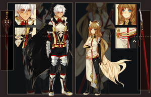 Adopts 2 and 3 (CLOSED) by Ahniki