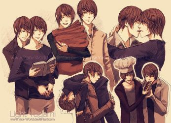 Yaoi Commission: Light Yagami by Yaoi-World