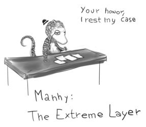 Manny: The Extreme lawyer by Germille