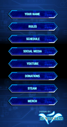 Yugioh Twitch TV Button Set by SEwingless
