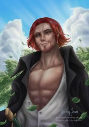 Red-Haired Shanks by Surkuhupainen