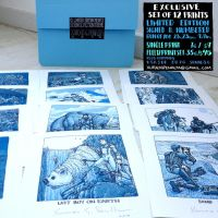 science fiction 12 print set by laseraw