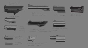 Handgun Barrel Study - 2010 by merbel