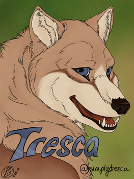 Tresca Badge by simplytresca
