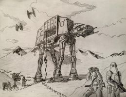 Hoth Walker by jmeaney
