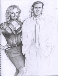 What A Pair...WIP by westernman