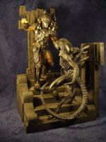 AVP statues by Joker-laugh