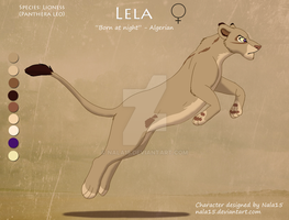 Lela - Lioness Adoptable + Story CLOSED by Nala15