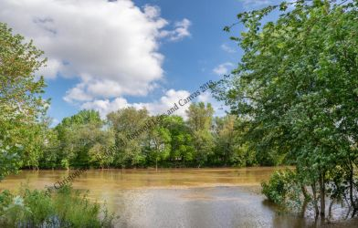 Maumee River Fort Wayne Indiana Pano by redwolf518