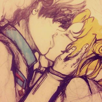Seiya+Serena: Sketch_26_05_2017 by Beloved-Star