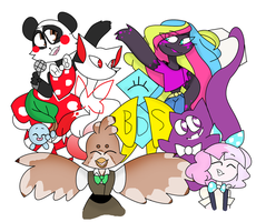 The 9 Companies!!! by TheCatQueen10