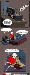 Underfell: After Care by IvyLeafTea