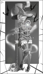 My Commission: Black Mage Rikku (Variant 2) by gh0st-of-Ronin