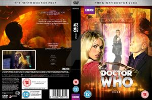 Doctor Who Rose Custom DVD Cover by GrantBattersby