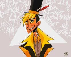 Bill Cipher by OfTheRiot
