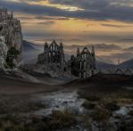 The Ruins.. by AledJonesDigitalArt