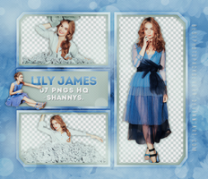 Png Pack 1032 - Lily James by southsidepngs