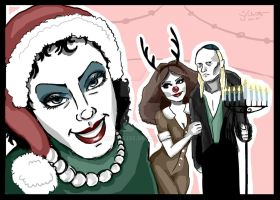 Holiday Card 2014: RHPS by TabathaZee