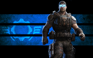 Gears of War 3 Baird wallpaper by IReckLess