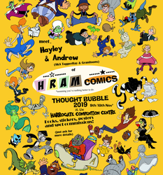 HRAM at York Geekfest by Granitoons