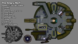 The Angry Nerf By Danlovejoy   Modified Deckplan by danlovejoy