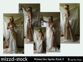 Winter+Ice Sprite Pack 5 by mizzd-stock