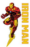 Iron Man T-Shirt Color by Soberbia-Roy