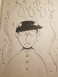 inktober: day 4 - MOB MOB by flame-heart85