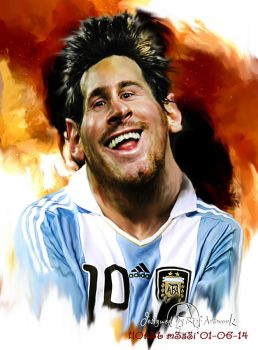 Messi21b by noedieartwork