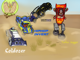 More Midway Vehicles by Nyanbonecrush