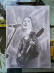 Lisa O. (The Veronicas) drawing by MissVeronici