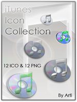 iTunes Icon Collection by Arti-Ds