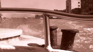 Venice, Italy: view from the boat by st2wok