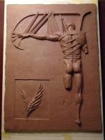 Icarus learning to fly WIP 7 by hadasaugh-sculpt
