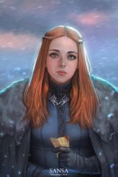 Game of thrones - SANSA by HanawaroArts